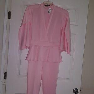 Sexy Diva Pink Cape Jumpsuit Sz. S